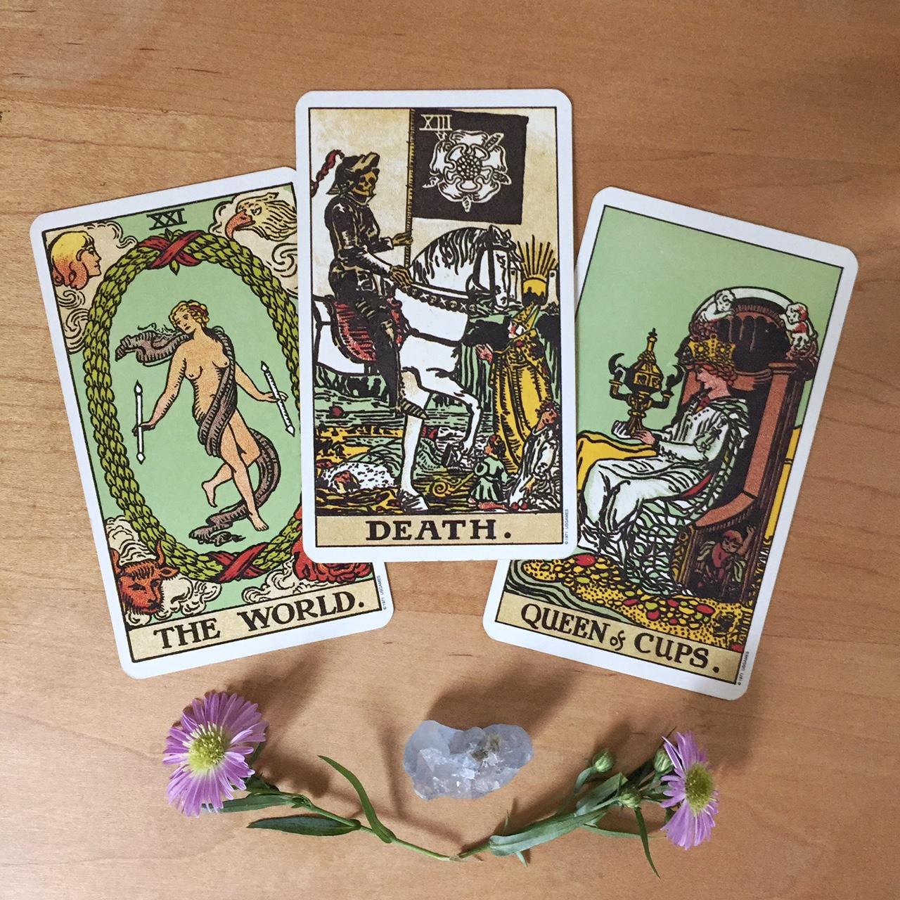 Cards from the Rider-Waite-Smith Tarot