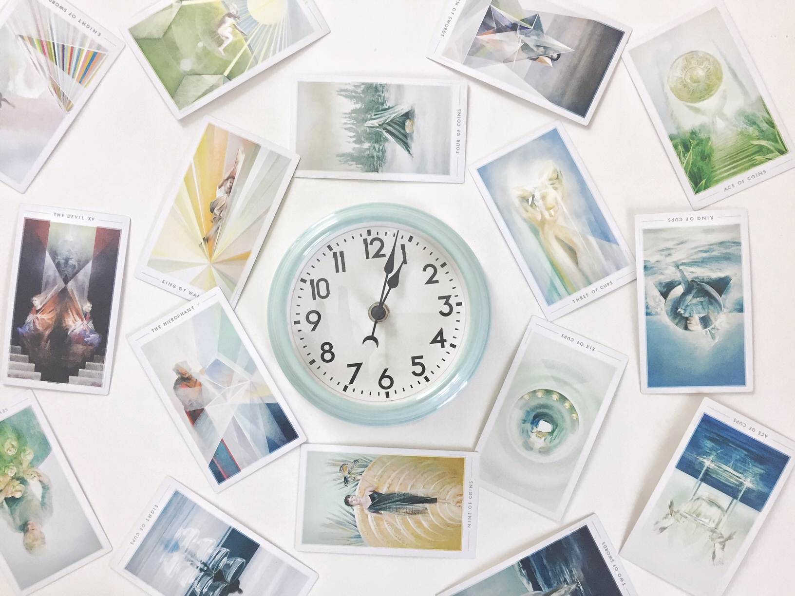 Time Tarot Reading with Clock
