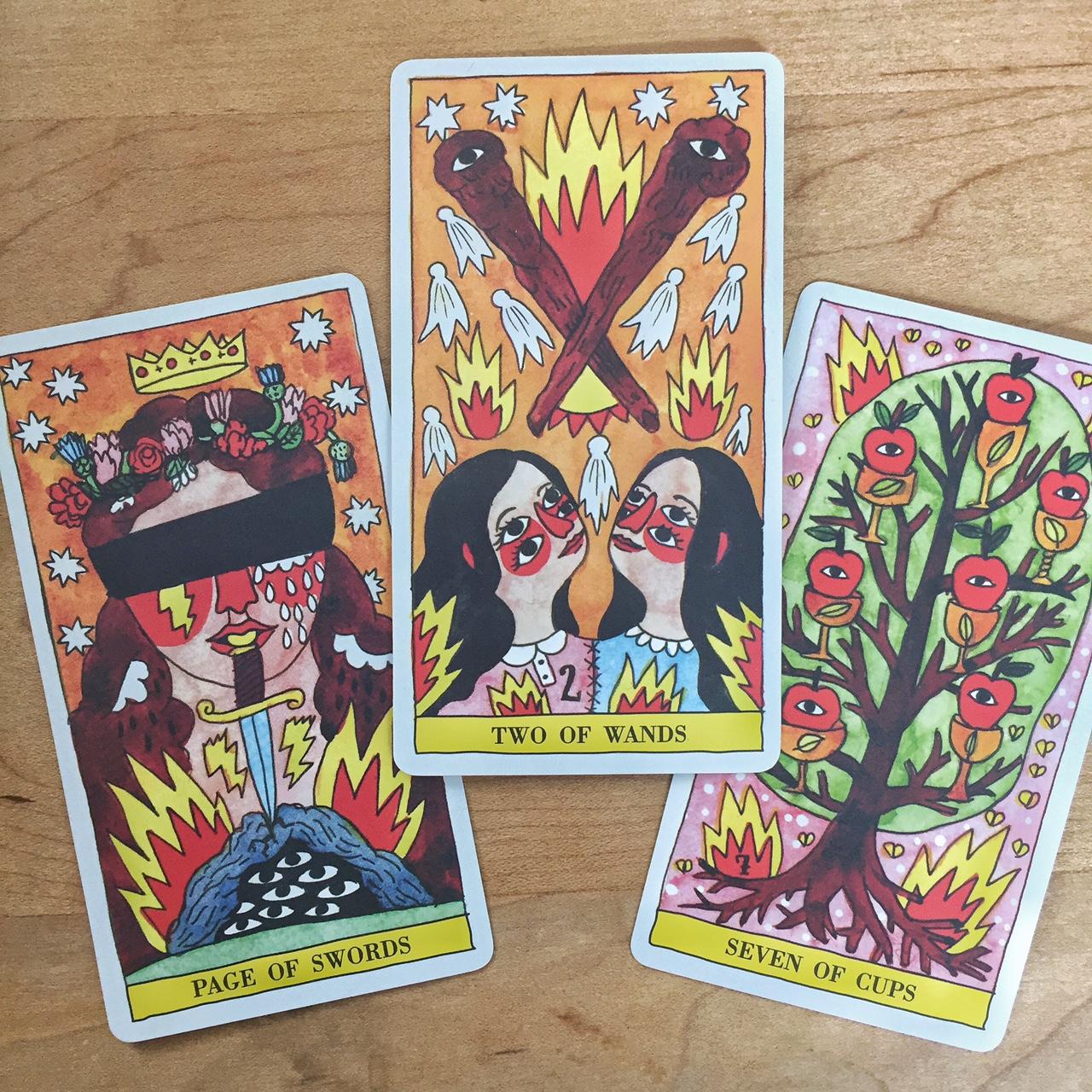 Tarot Reading with Tarot del Fuego