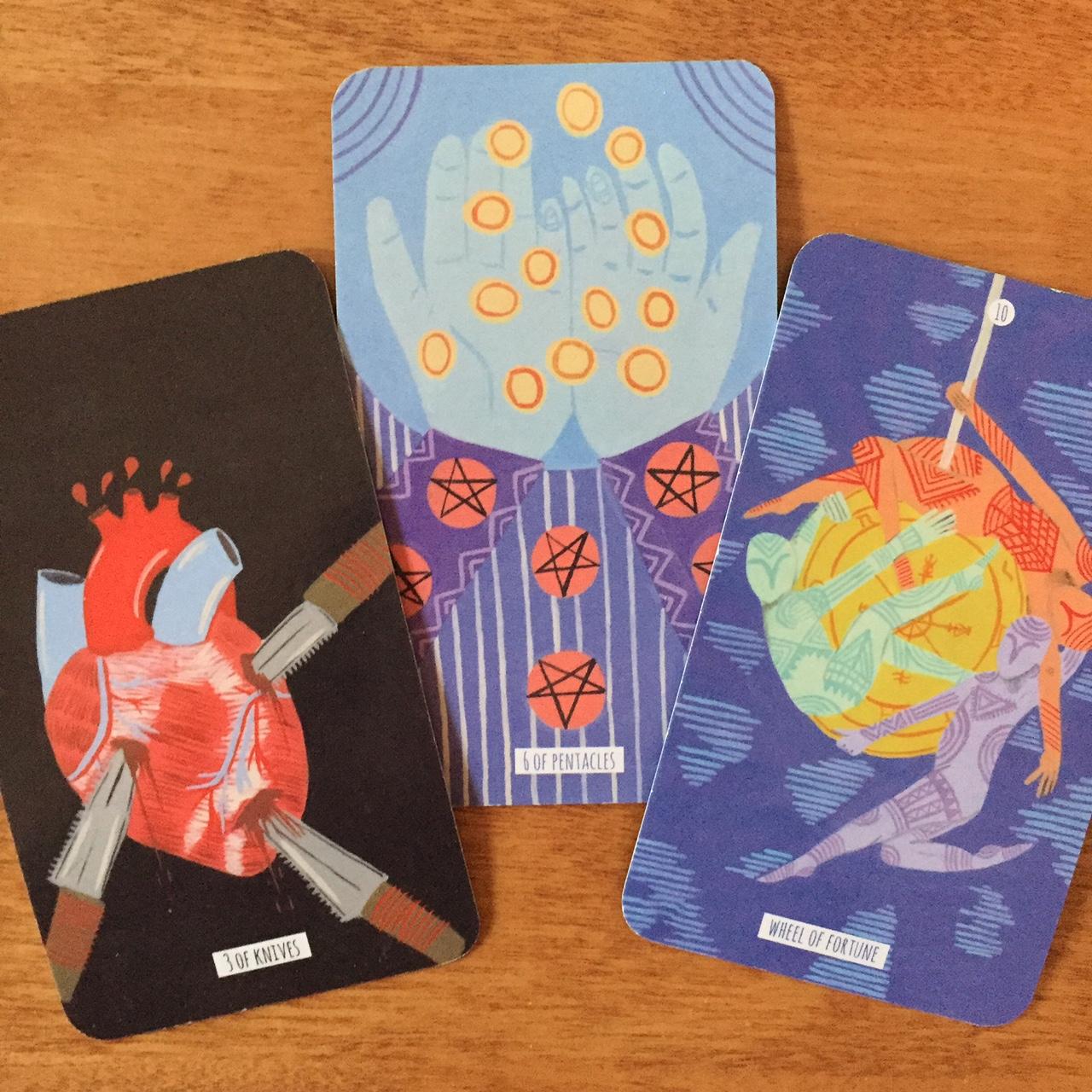 Tarot Reading 3-Card Circo Tarot