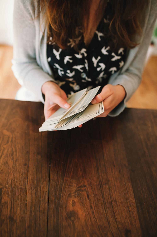 How to Shuffle Tarot Cards — Incandescent Tarot