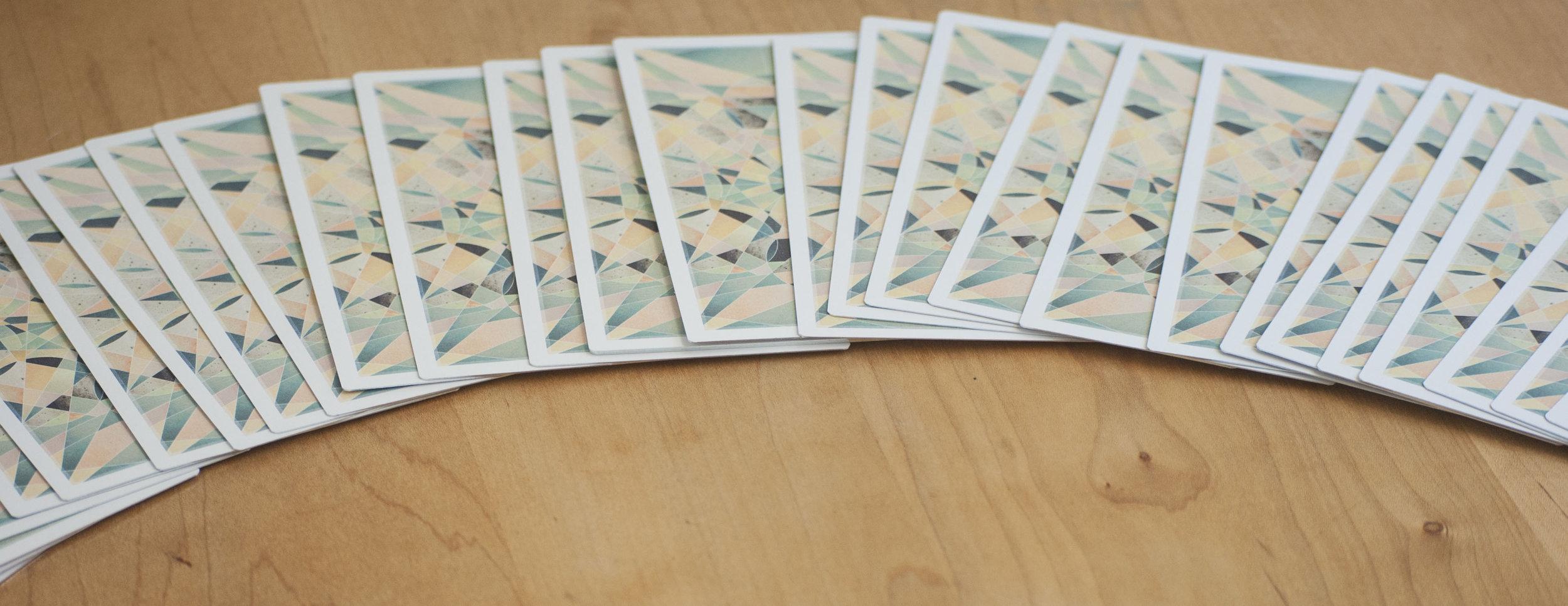 How to Shuffle Tarot Cards Fountain Tarot