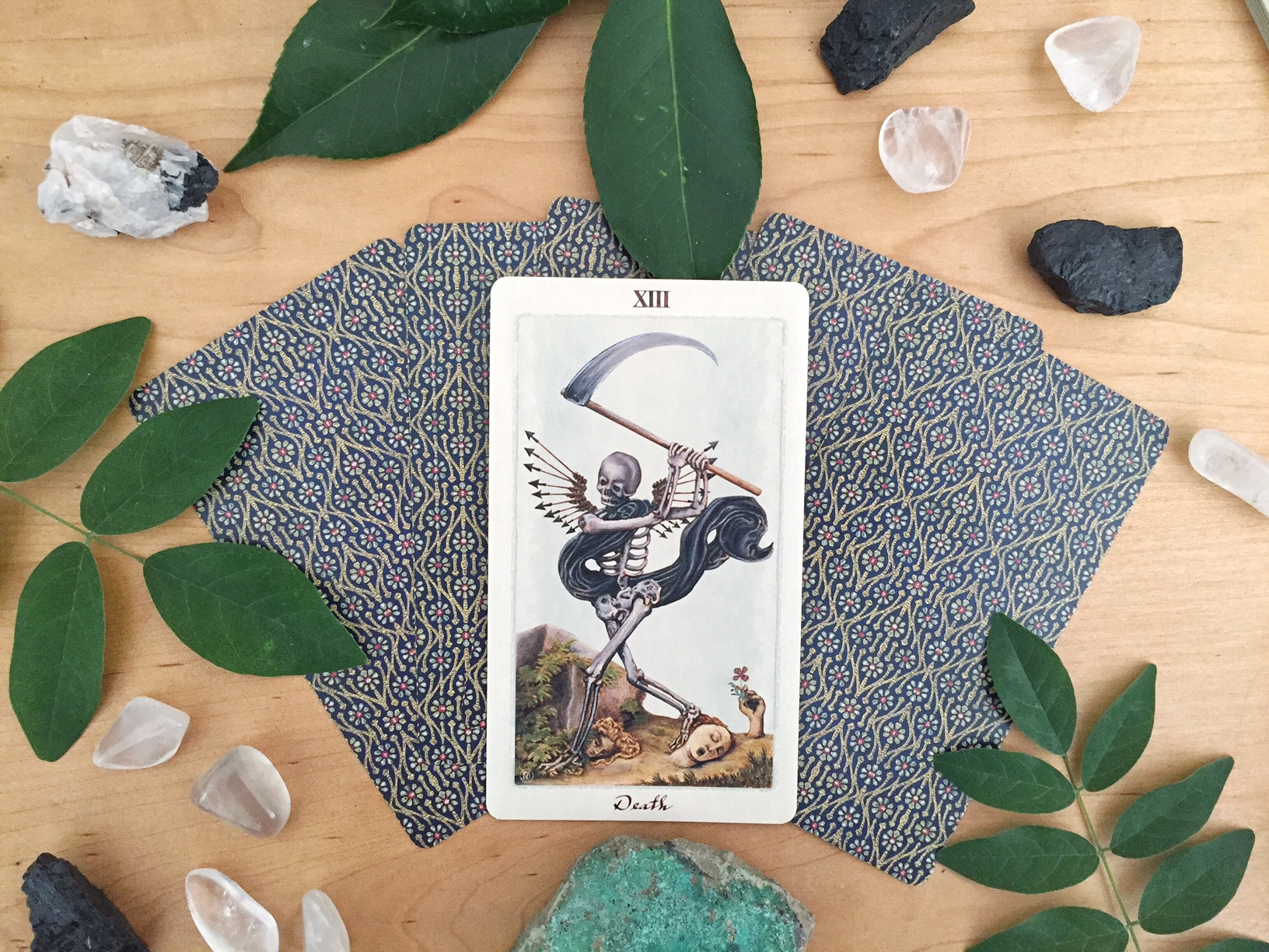 Tarot Reflections: Diving Deep into Shadow Work with Death and The