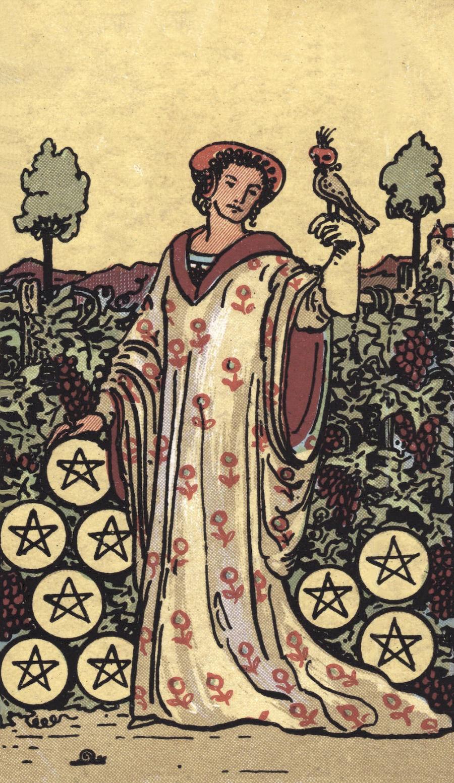 Four of Wands Rider Waite Tarot Card