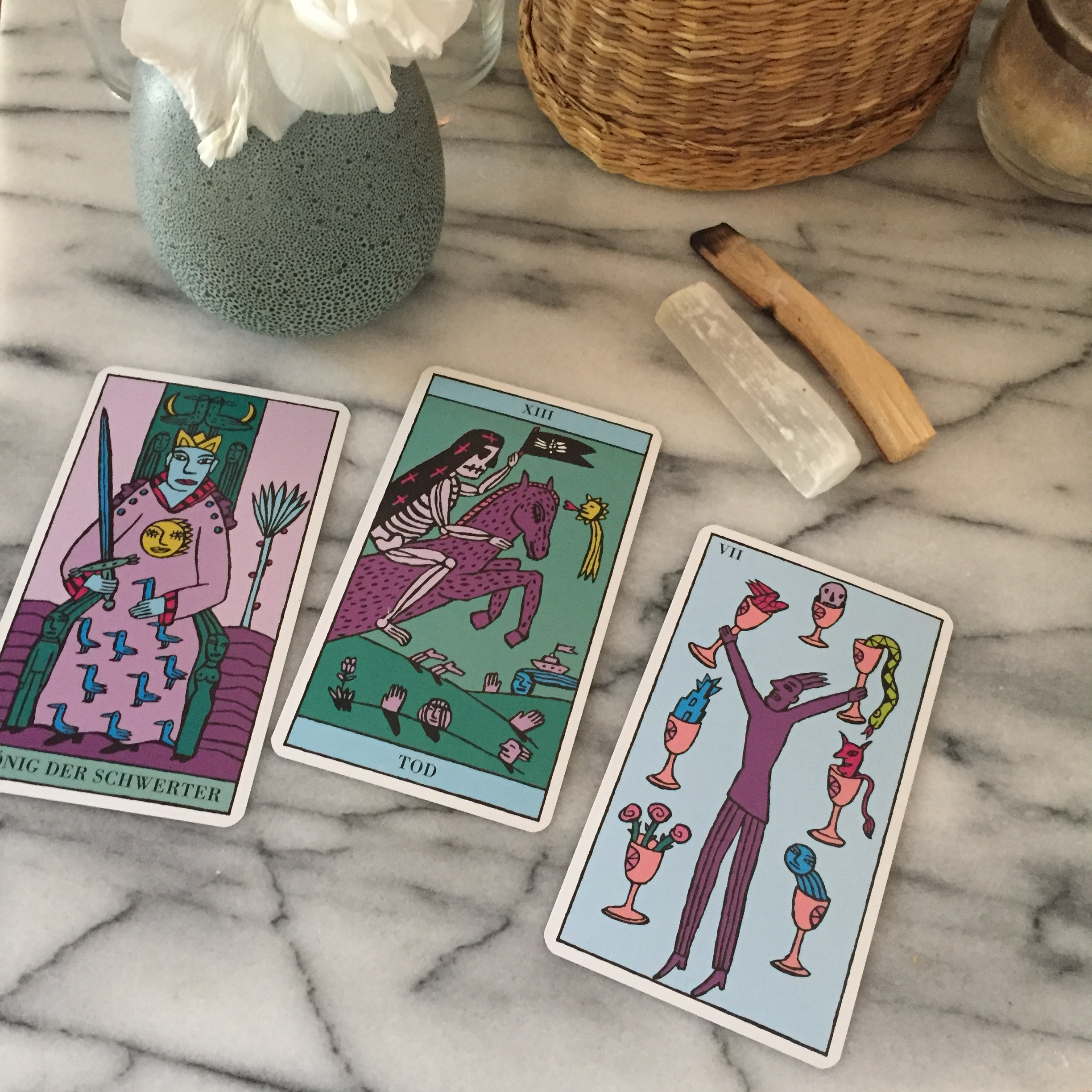 Kitty Kahane Tarot Reading Three Cards