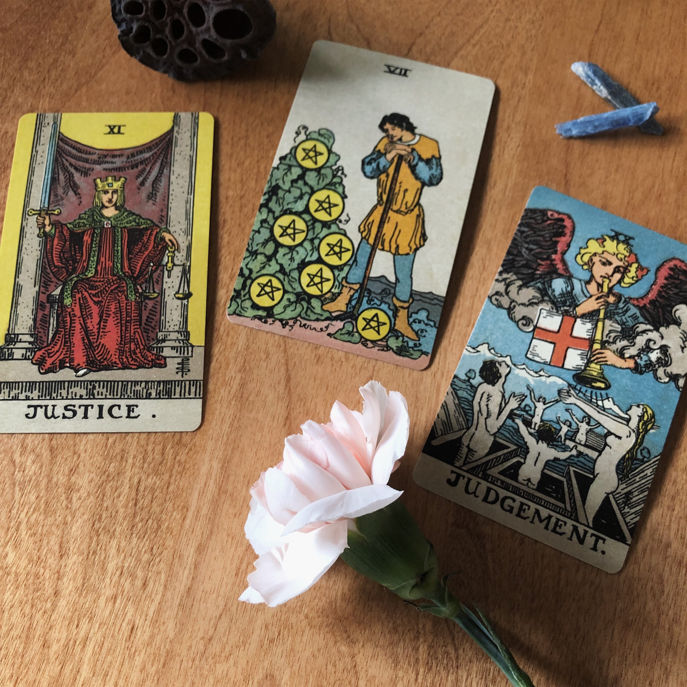 Three Card Reading Rider Waite Smith Tarot