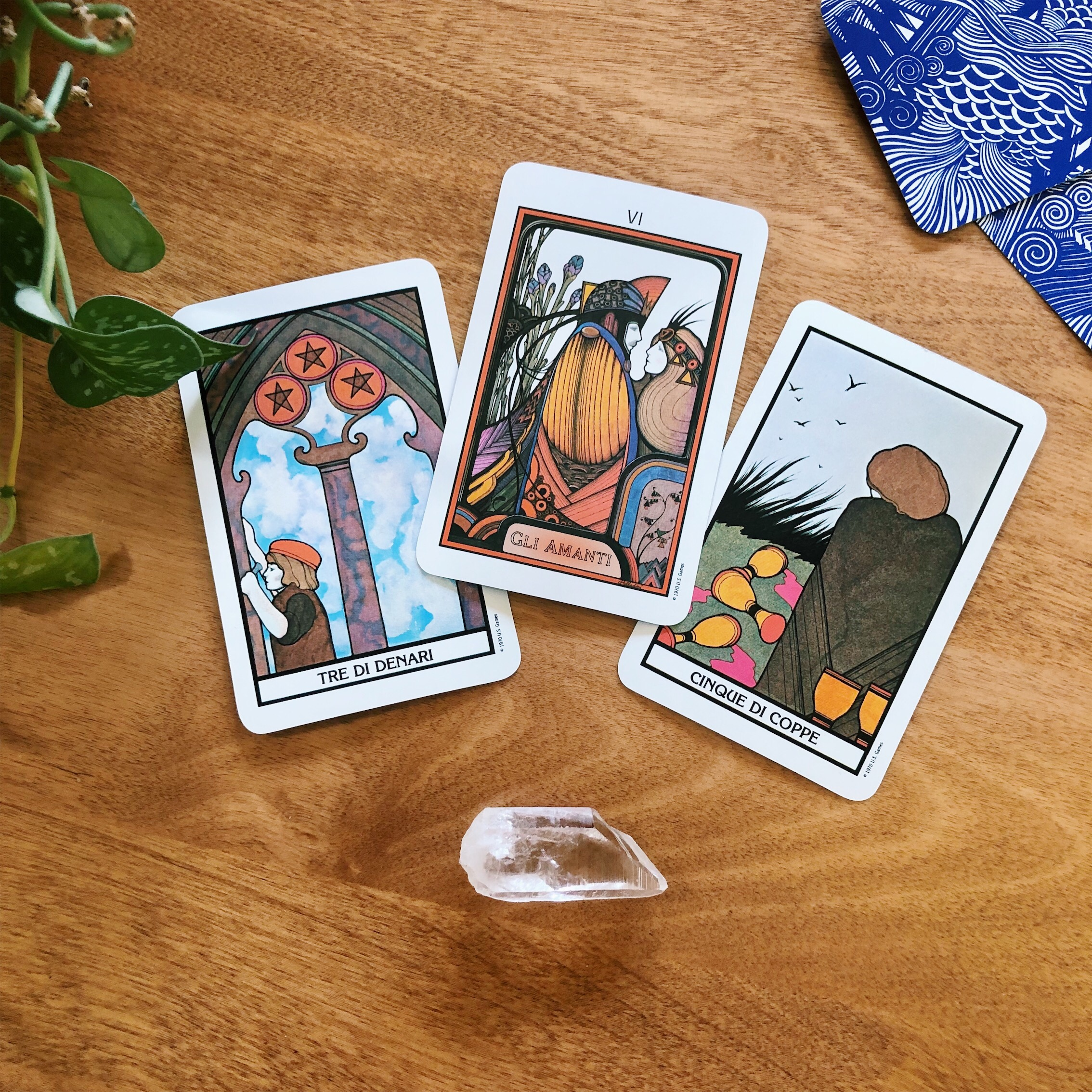 Three Card Reading Spolia Tarot