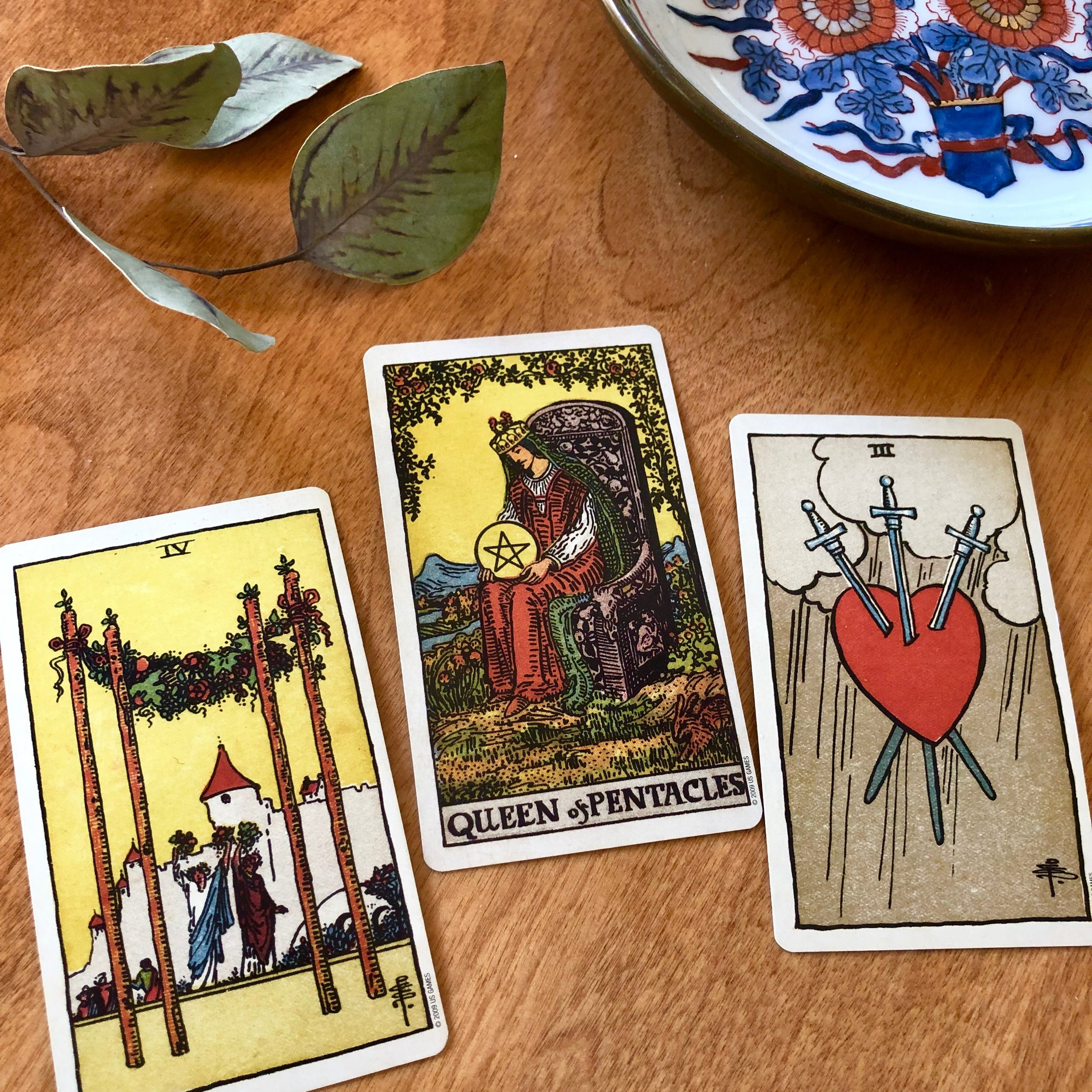 Three Card Reading Rider-Waite