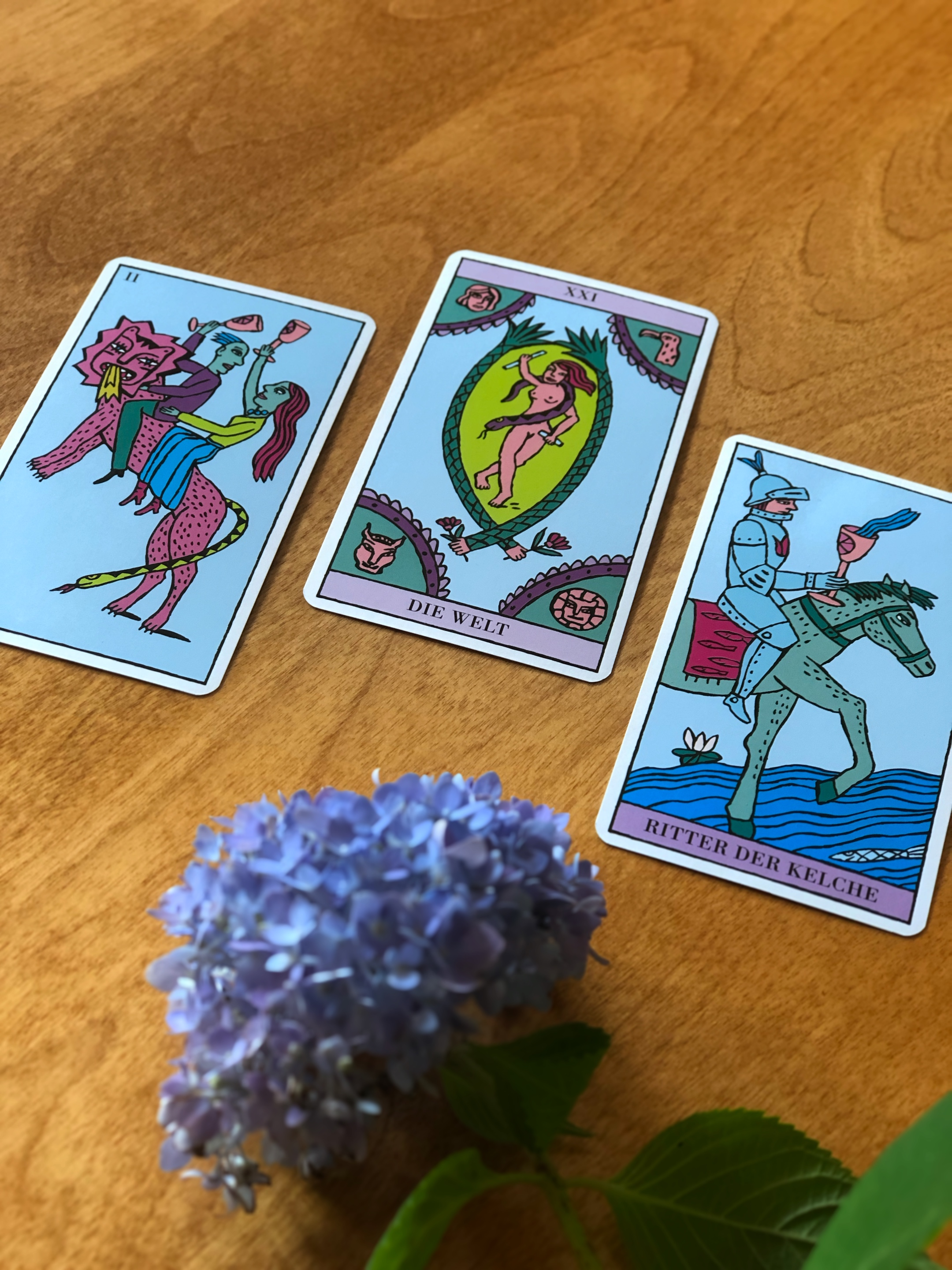 Three Card Reading Rider-Waite