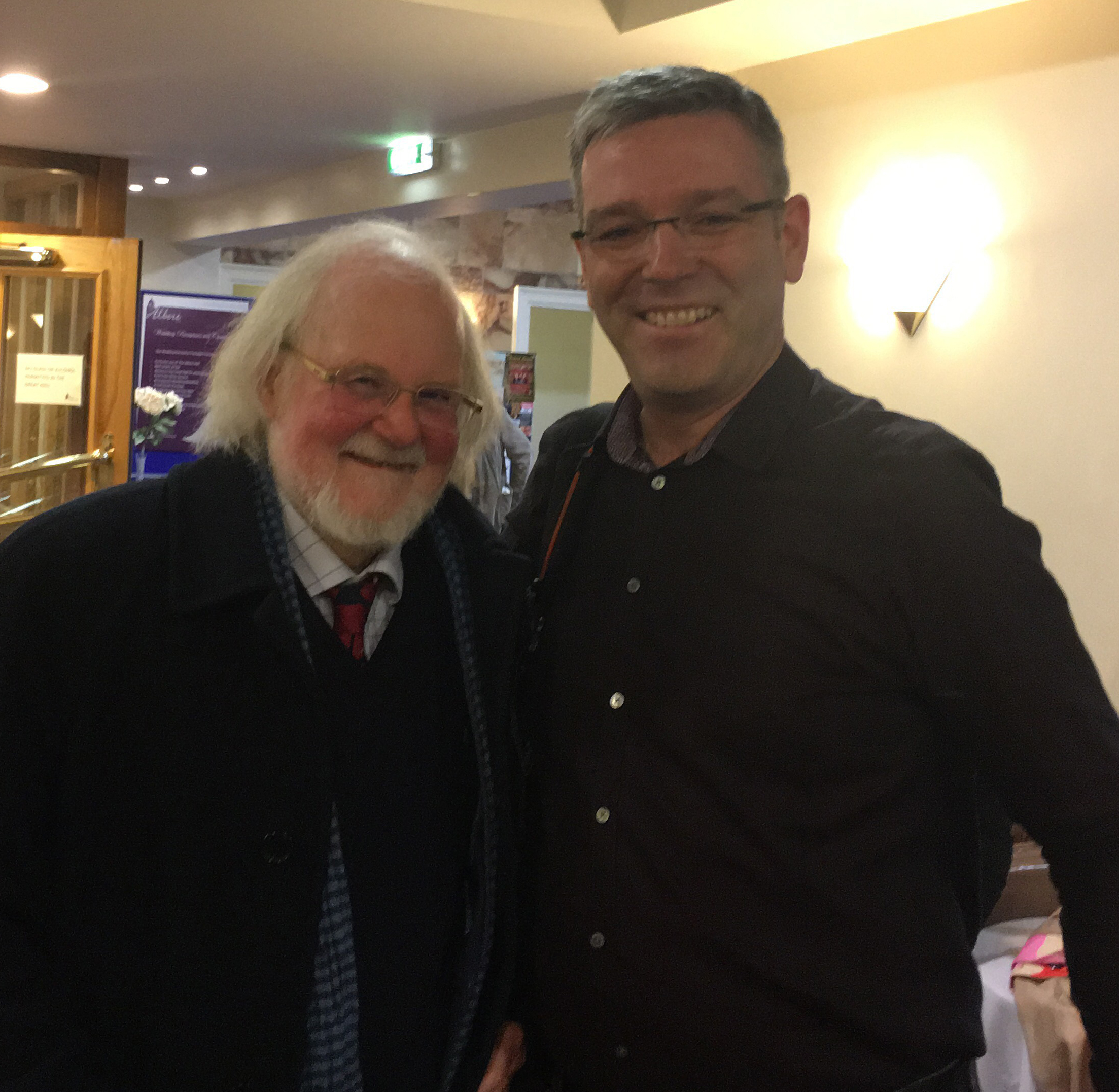 Post Brahms with Professor Robert Pascall