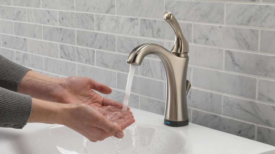 Touchless faucets: varies in discoverability.