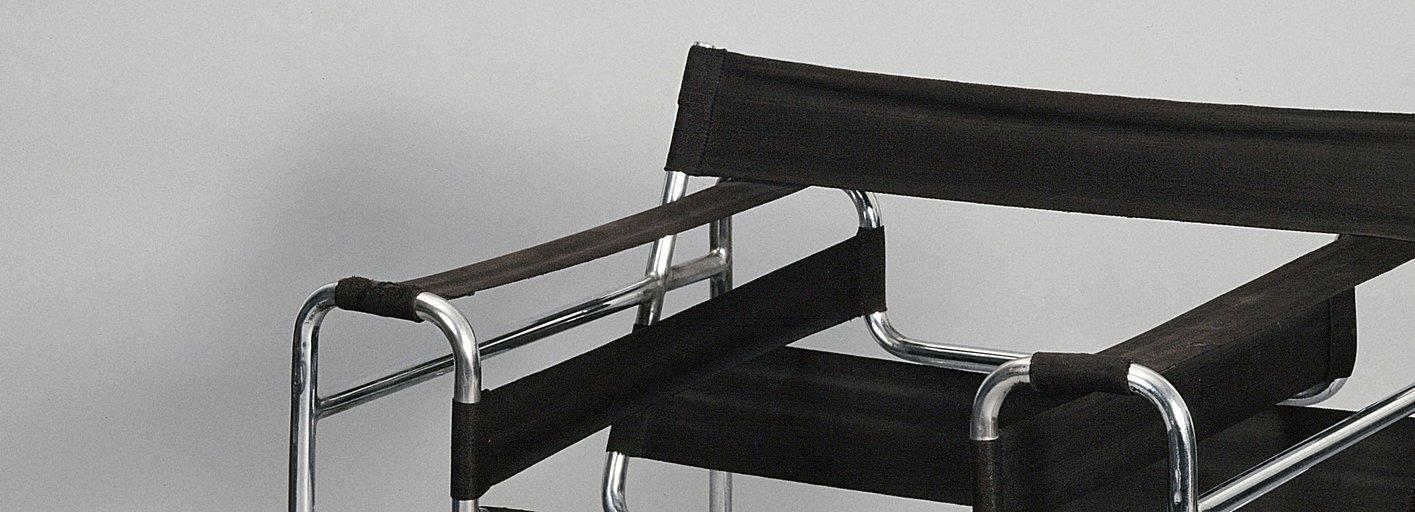 Industrial design:Barcelona chair (1929)