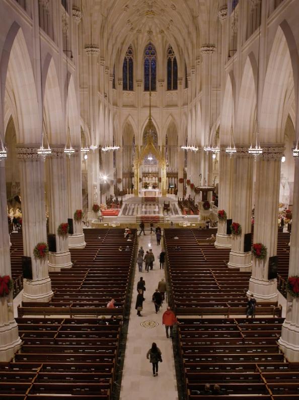 Lofty, uplifting sound inside St. Patrick's cathedral