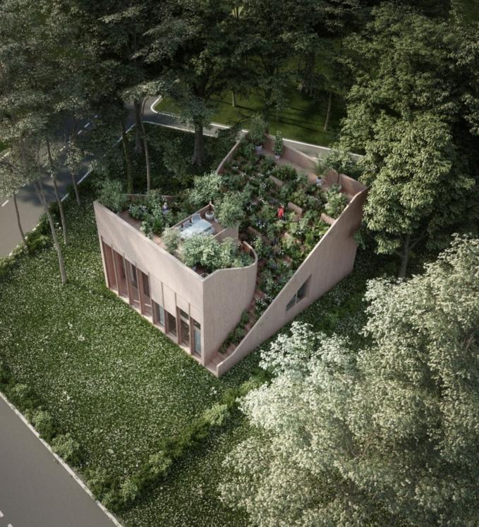 Yin & Yang House