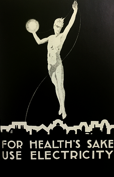 Electrical Development Association poster. (1927)