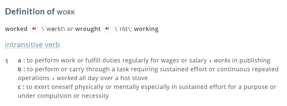 Merriam-Webster dictionary.