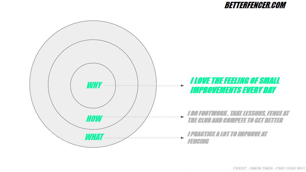 Find Your Why In Fencing Diagram
