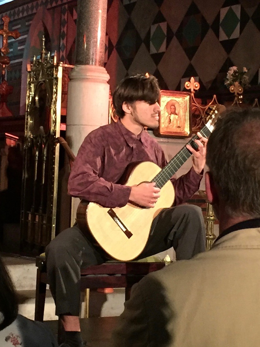 Mohit Dubey performs three movements from Torroba's  Castles of Spain