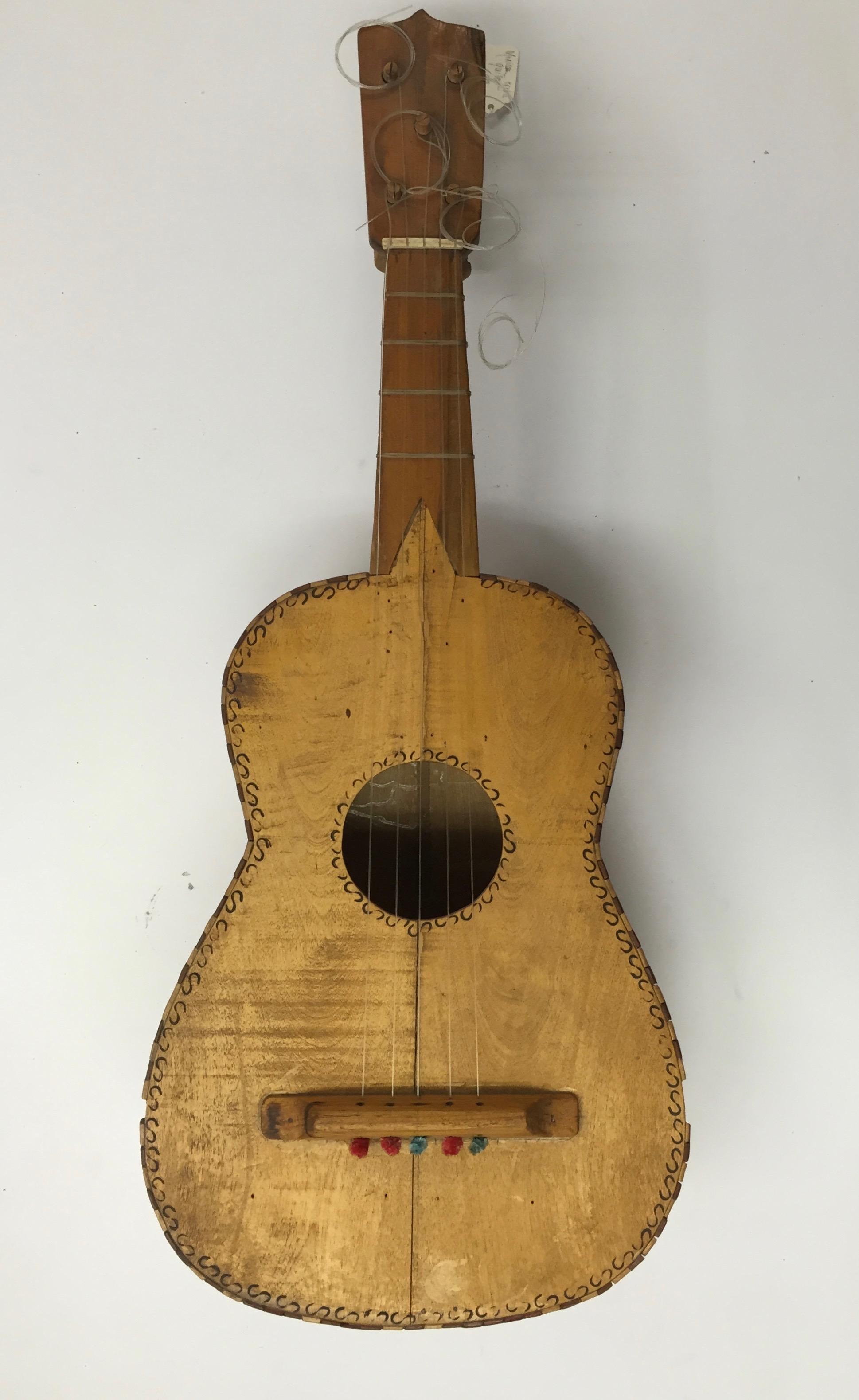 Handmade Mexican 5-string guitar