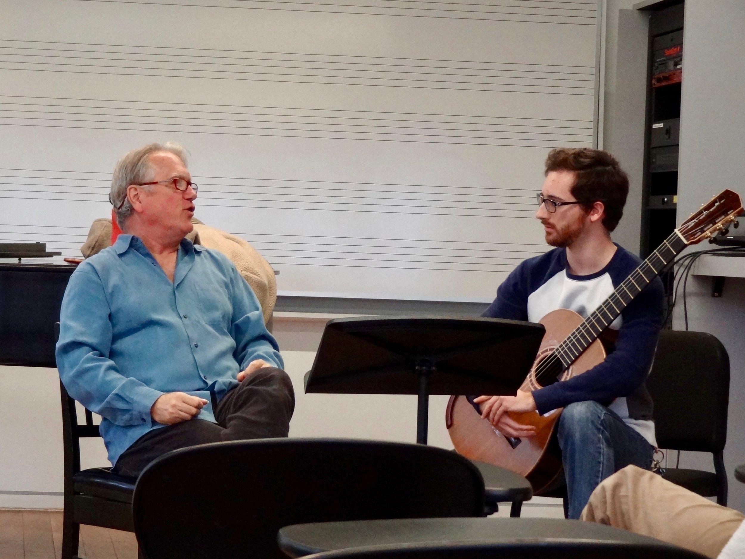 Senior, Brian King played the Passacaglia from Rodrigo's Three Spanish Pieces