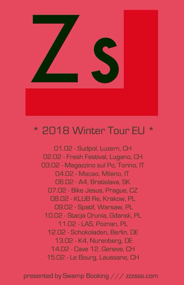 ZS tour poster
