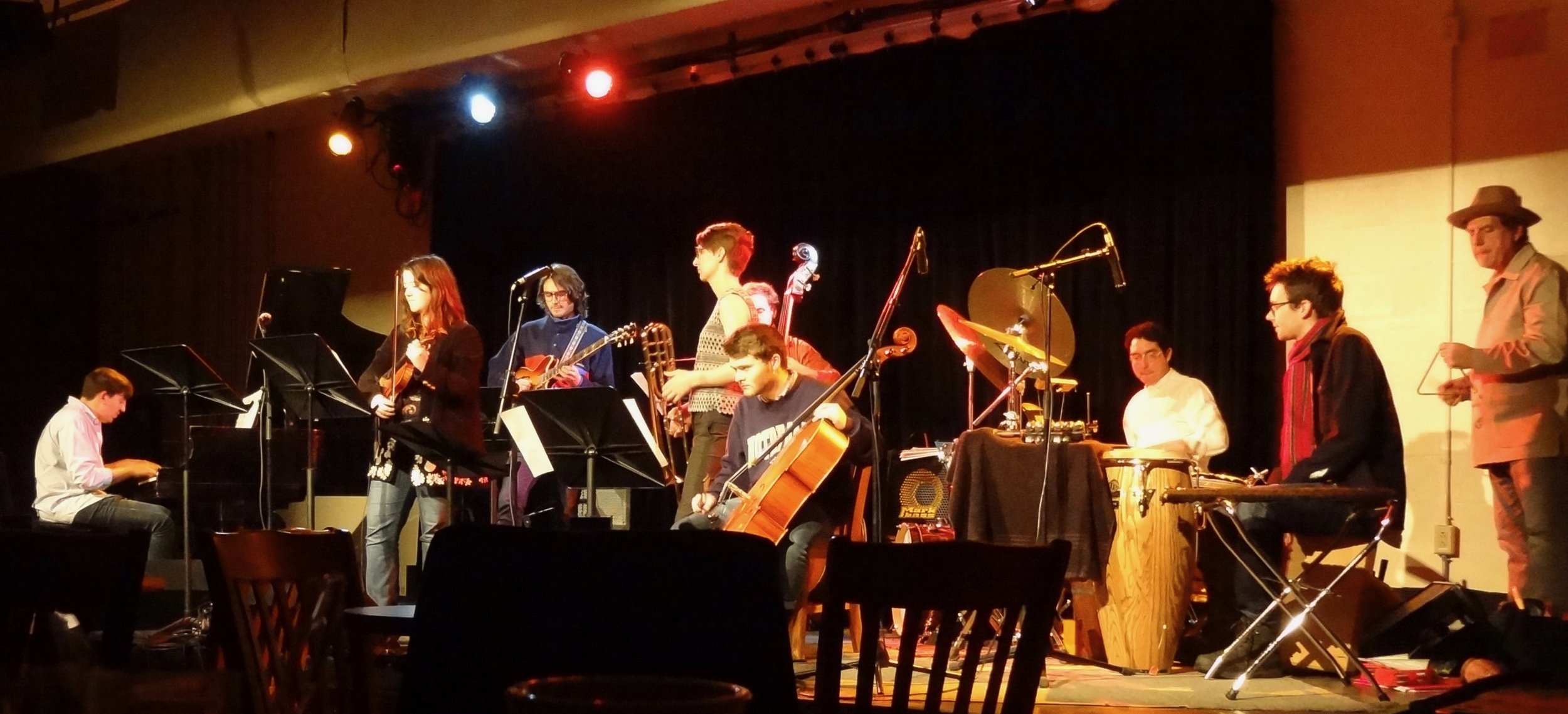 Second large PI Ensemble, in a performance of Sergio's  Hope