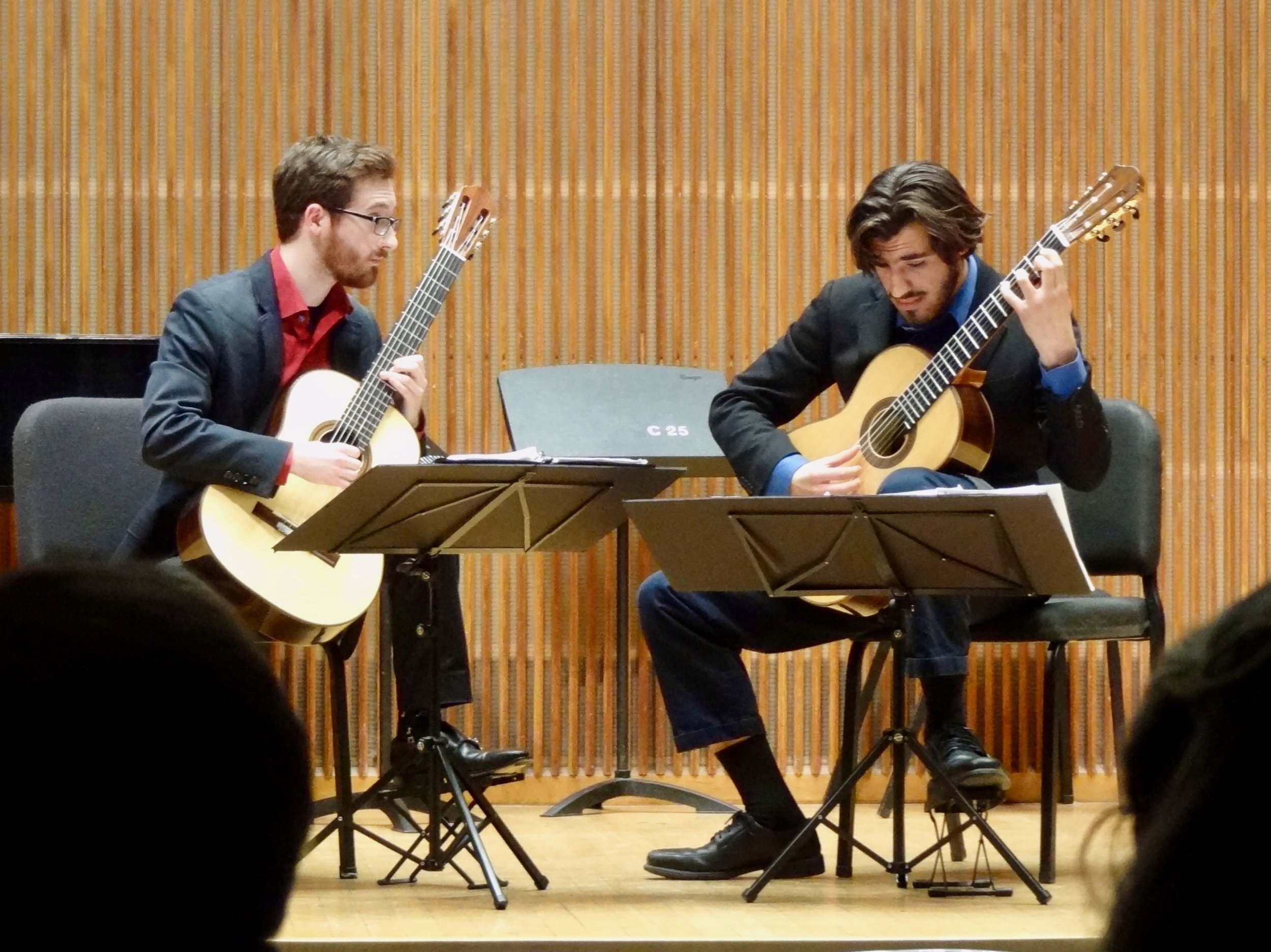 In a remarkably virtuosic duo performance, Brian King and Mohit Dubey play Brian's arrangement of Tchaikovsky string quartet music