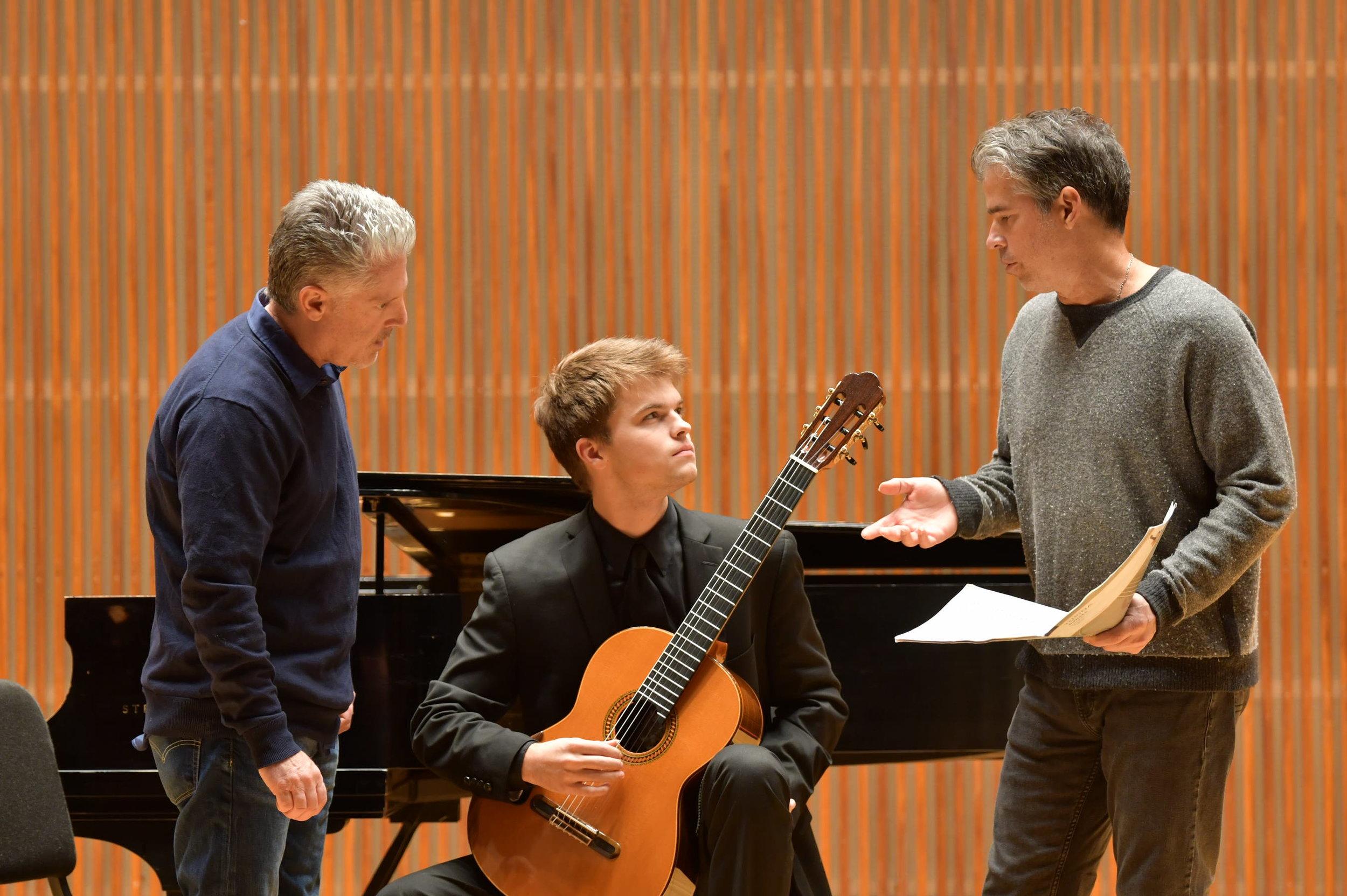 Craig Slagh played the first movement of Joaquin Turina's Sonata