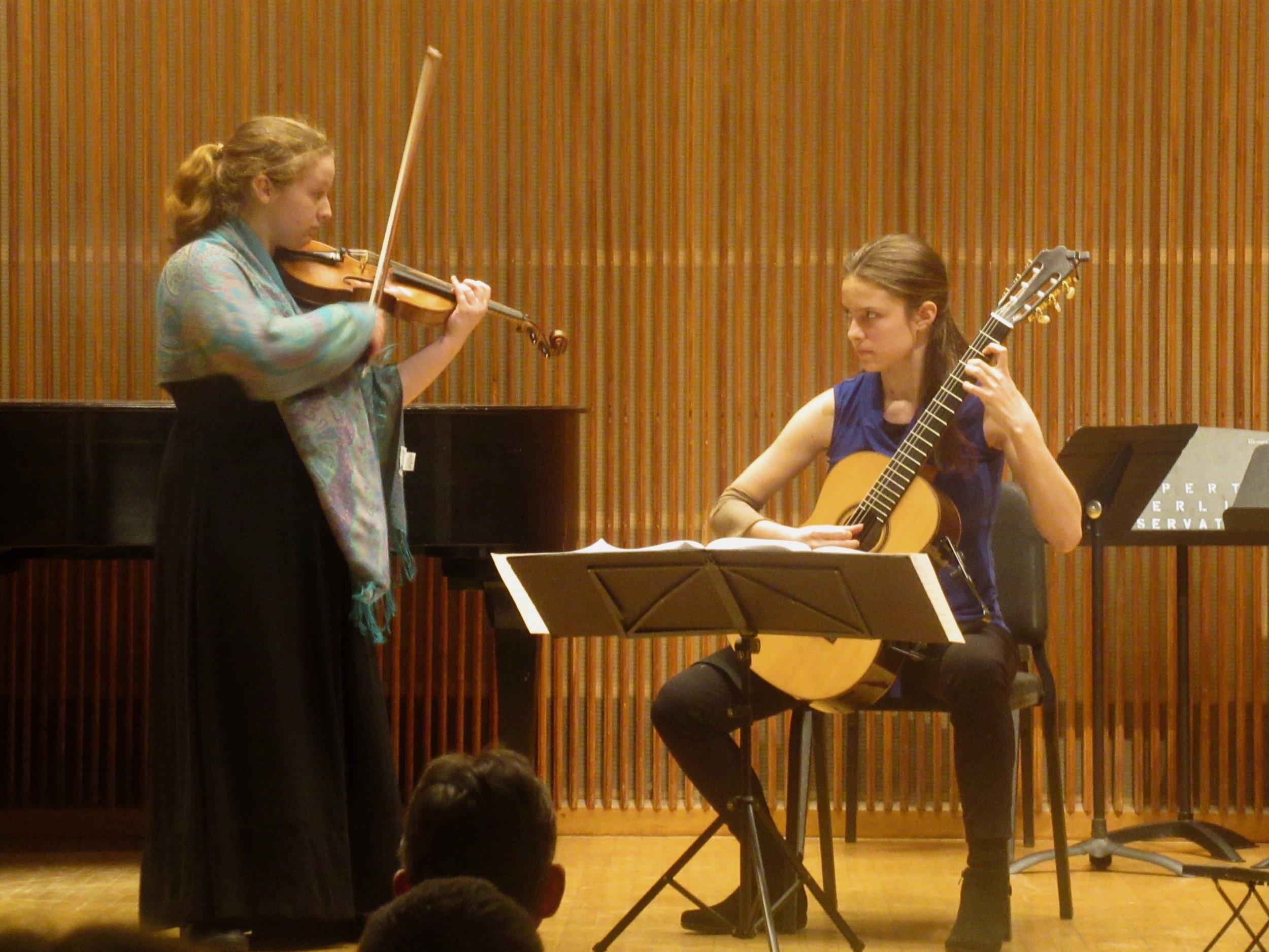Daphne Pickens and Eliza Balmuth