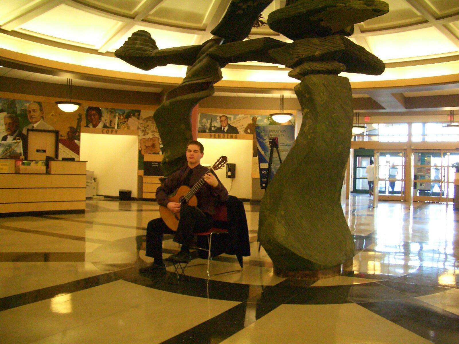 From Senior Recital tour, Greensboro, NC