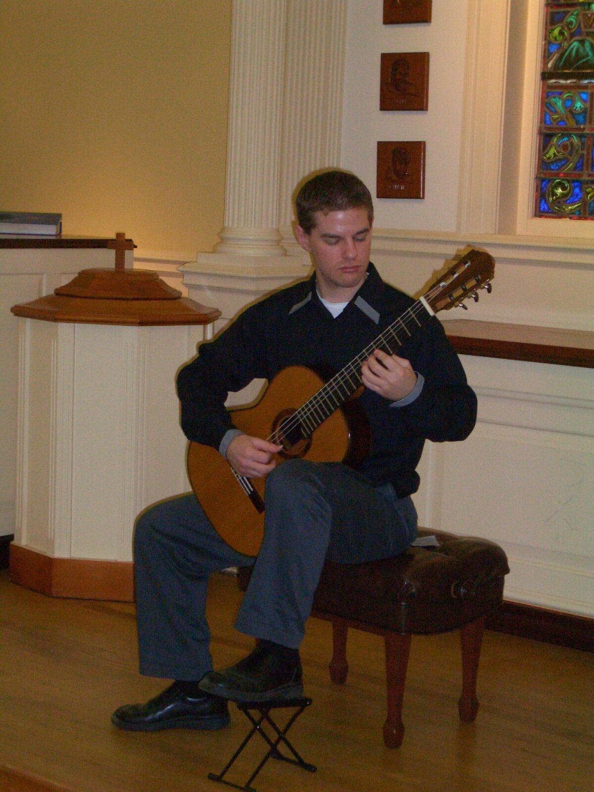 From Senior Recital tour, Presbyterian College, SC (many thanks to U Akron alum, James Buckland)