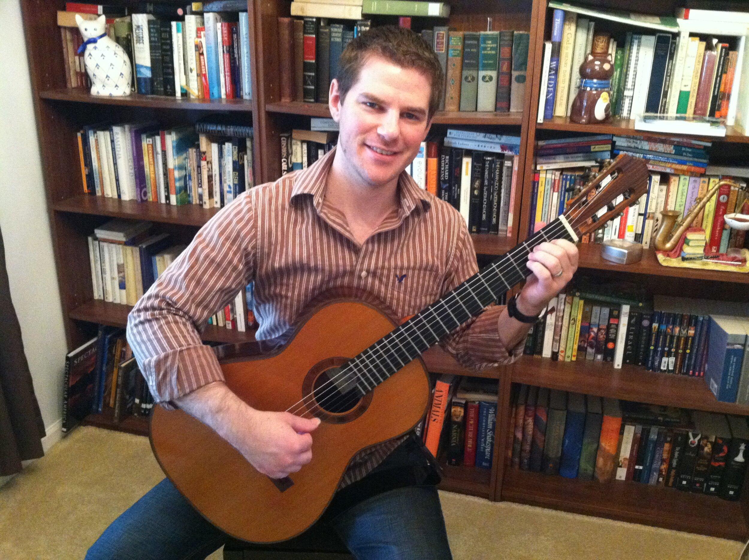 Steve gets his stolen guitar back!