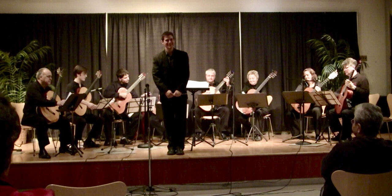 Columbia Guitar Orchestra concert