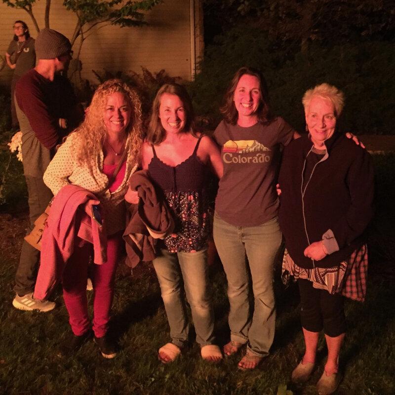 Jim (facing away), Jen, JoNell, Alayna and Sue