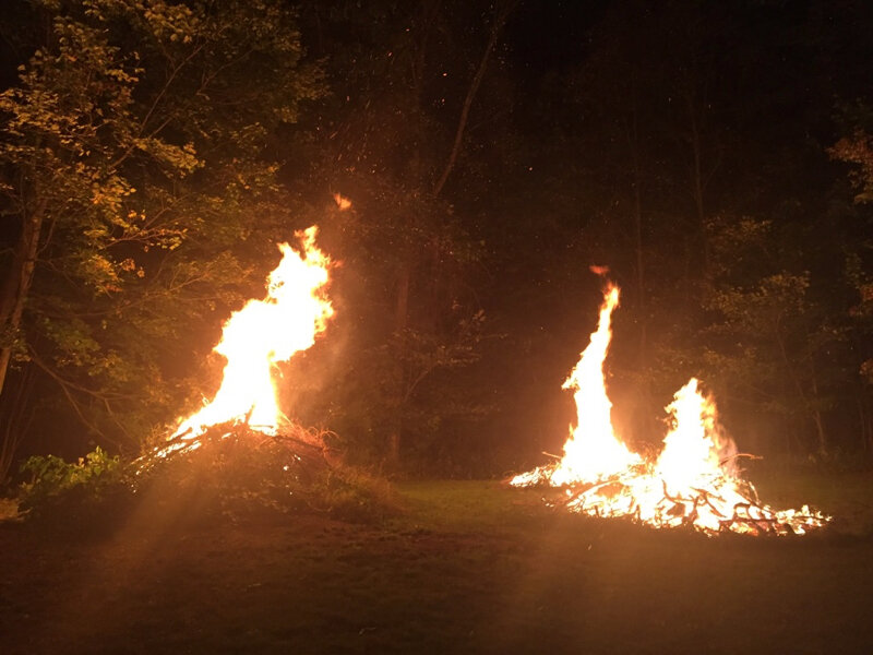And now, three simultaneous fires!
