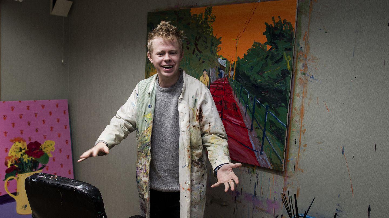 BERGENS TIDENDE Axel Vindenes vil inn i kunsthistorien