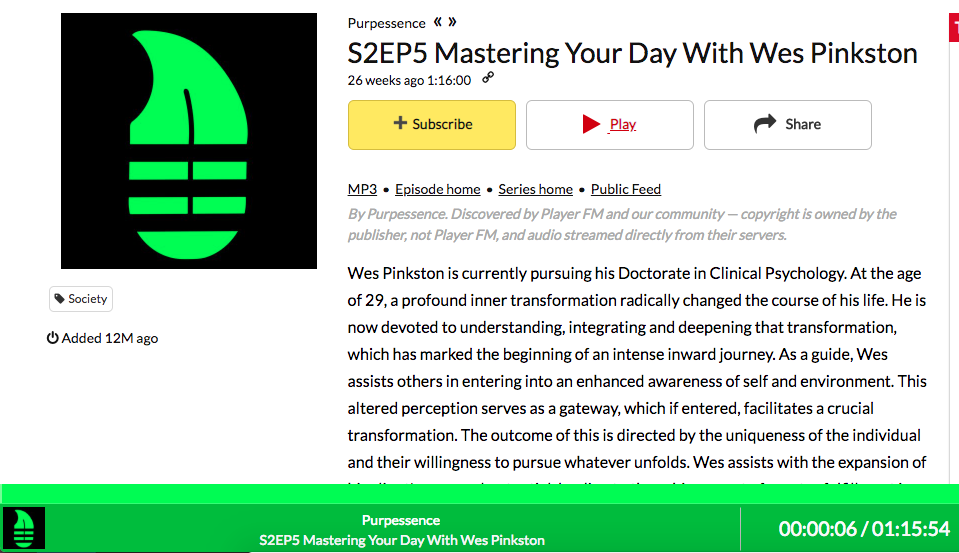 S2EP5 Mastering Your Day With Wes Pinkston -