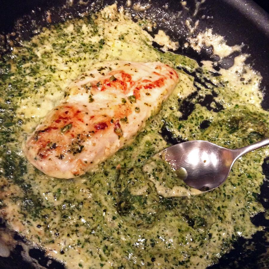 keto sauce and dinner with keto pesto chicken recipe