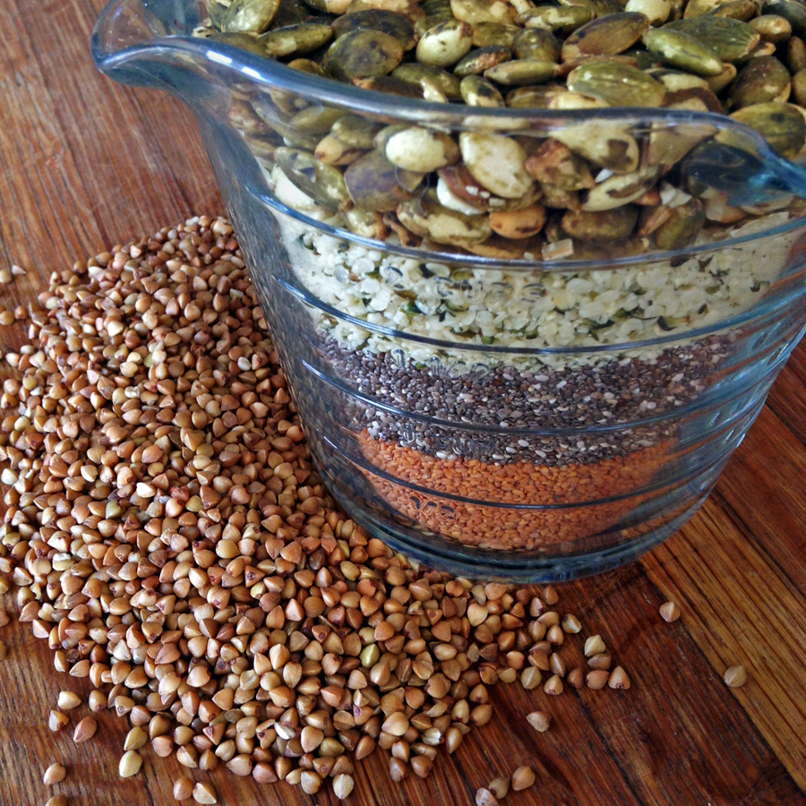 keto seeds and toasted seeds for keto meals