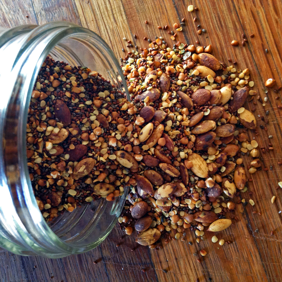 keto seeds and keto condiments for toasted seeds