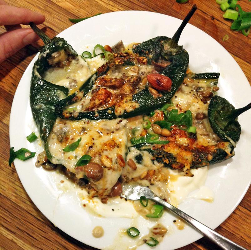 Best keto dinner recipe. Make keto chile rellenos for dinner!