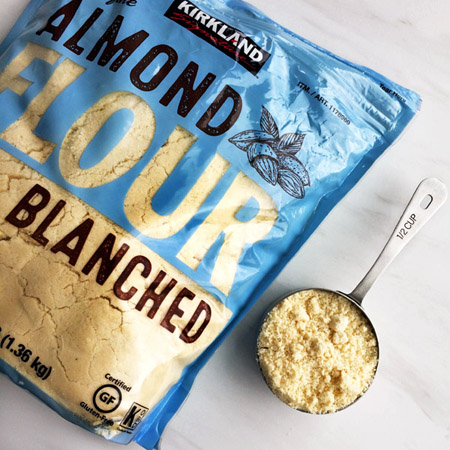 keto almond flour for the keto shopping list and diet