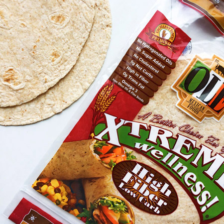 keto tortillas for the keto diet shopping list
