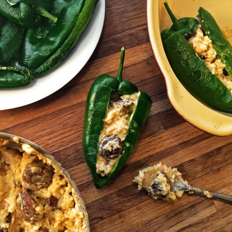 stuff pepper keto diet recipe and low carb chili relleno recipe