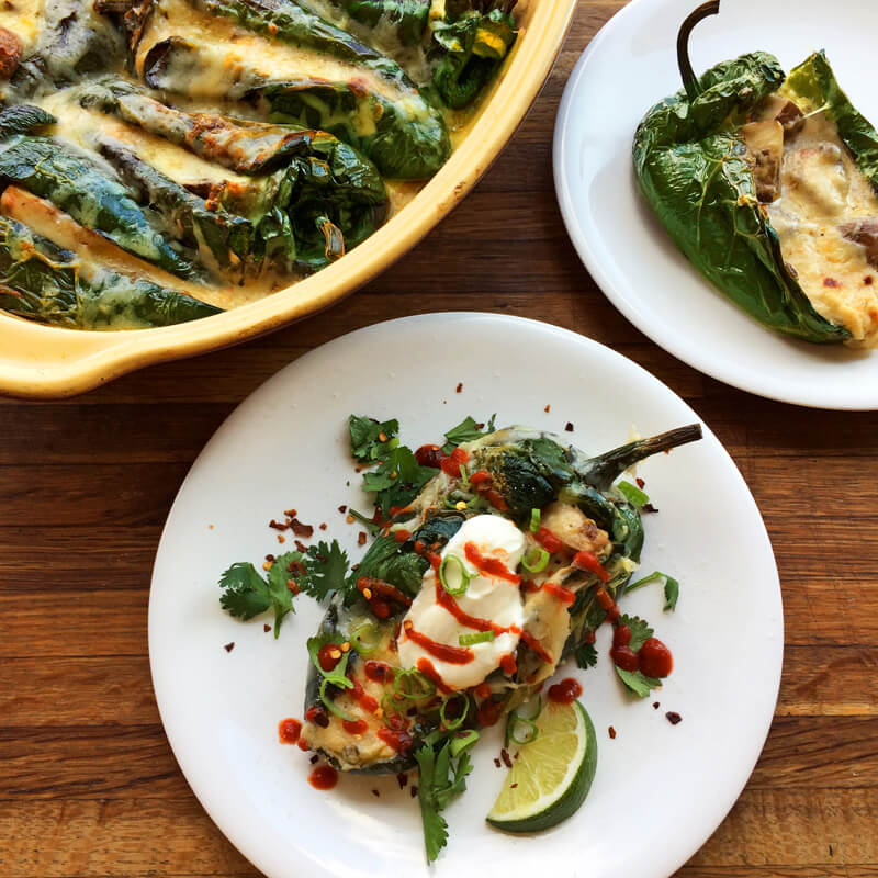 baked keto stuffed peppers and easy chili rellenos recipe