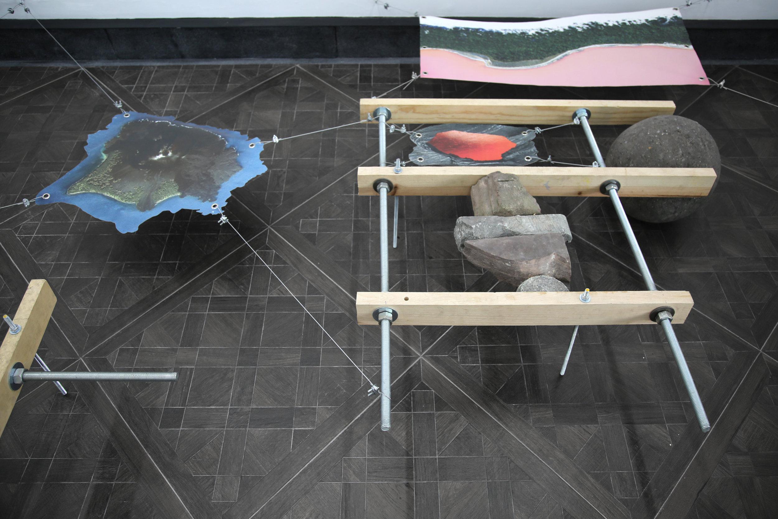 Rodrigo Red Sandoval, floor, chalton gallery