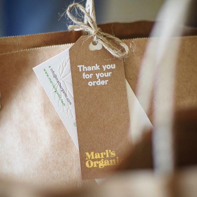 When we partner with our clients to build and design their brand, we naturally always find beauty in the bigger picture but the real love for us is in the details 💖 @marlsorganic #oathtohealth #heartdiecut #goldfoiling #whitefoiling #blindemboss