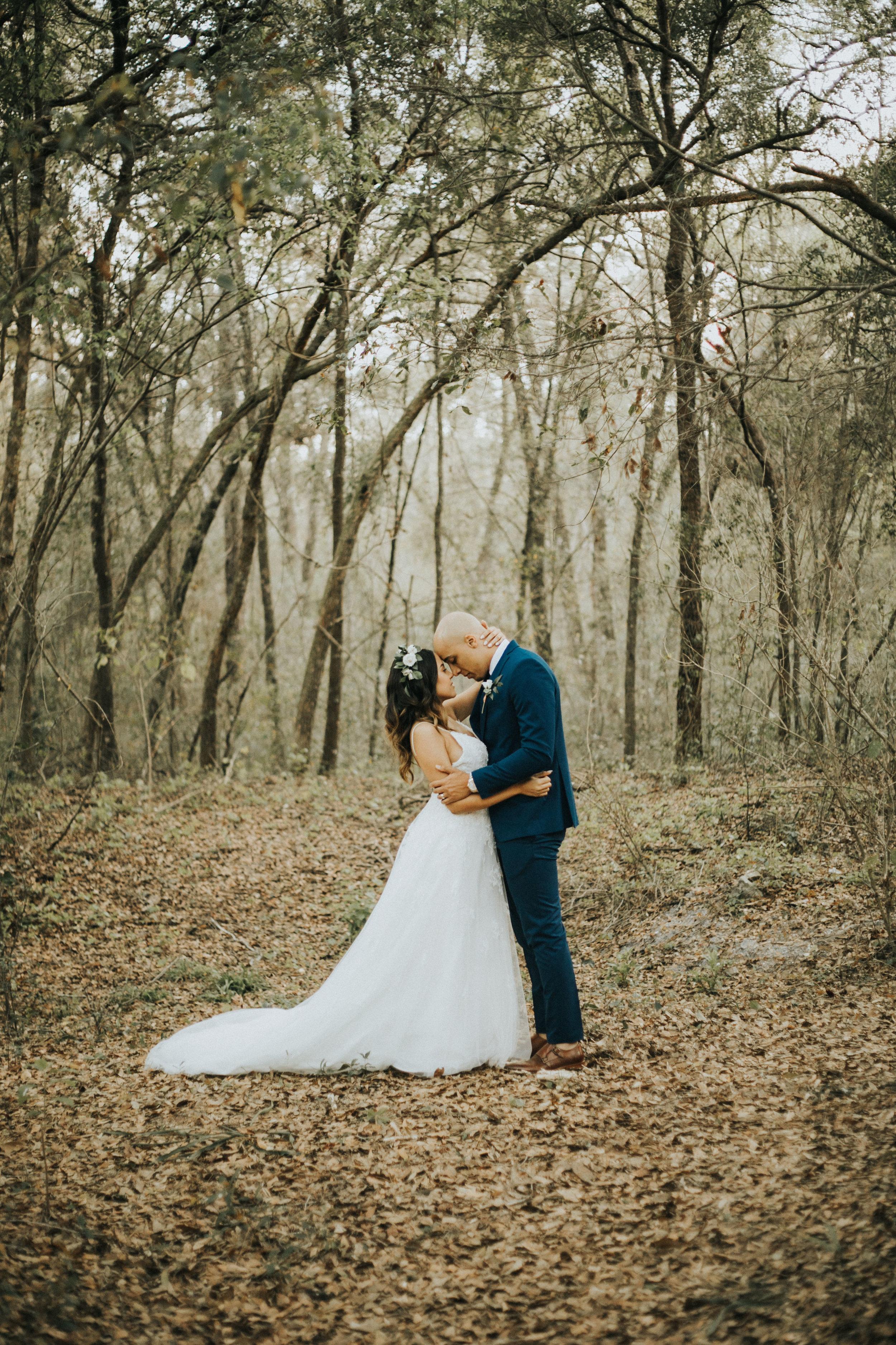 Phil + Suyanne // Wooded Wedding -