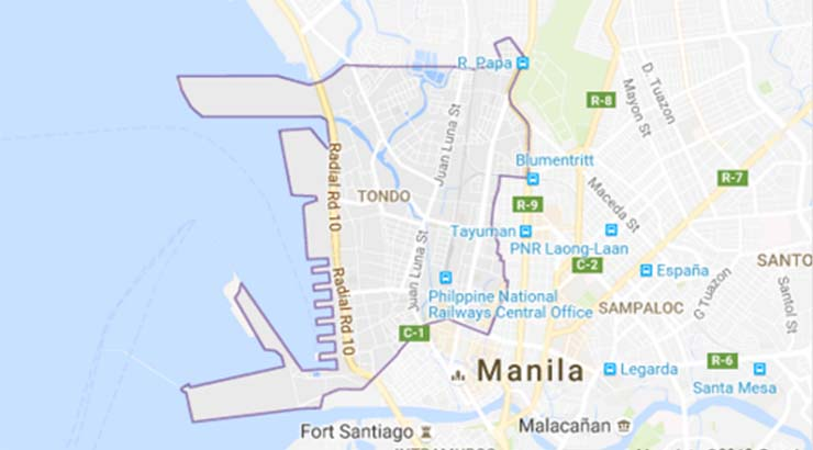 Tondo - It is part of the City of Manila, located North of the downtown core, where the majority of the 631 thousand (2015) poverty-stricken citizen reside.