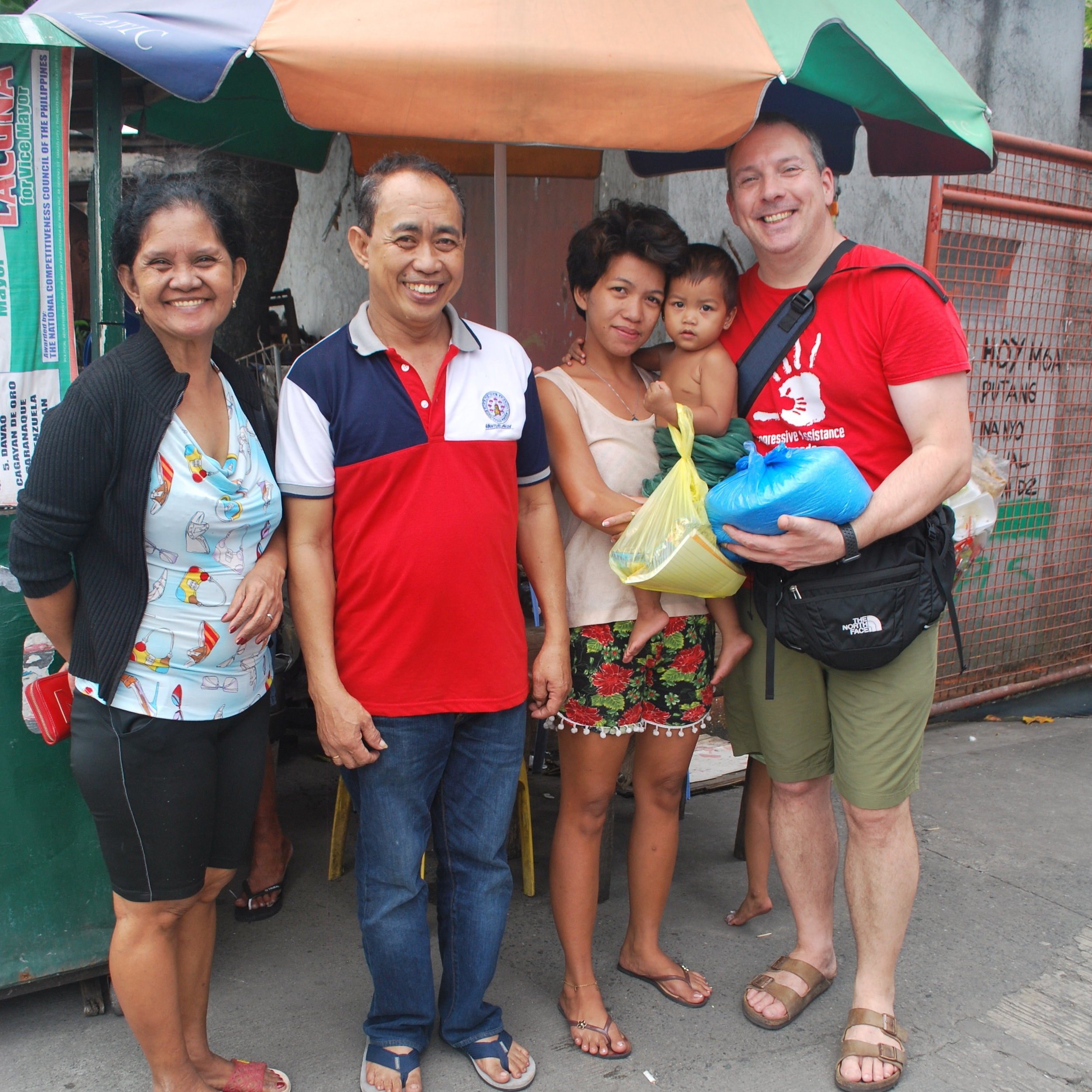 Bundles for Hope - Join us in the distribution of food packages throughout the year to households, so that families in the most impoverished areas in the Philippines can benefit from a nutritious and essential meal.